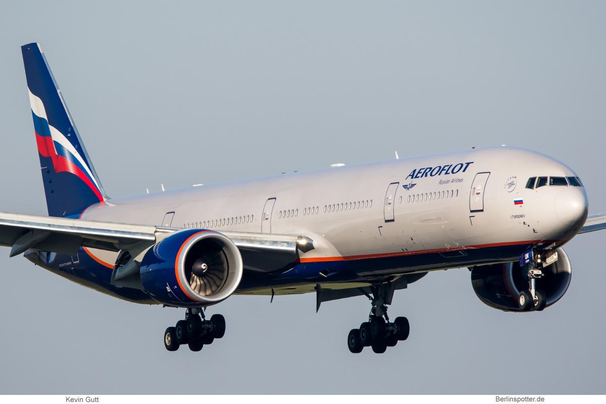 Aeroflot Boeing 777-300ER VQ-BQM
