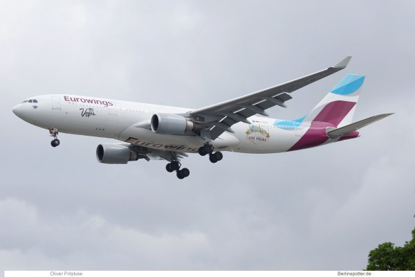 Eurowings, Airbus A330-200 D-AXGF (TXL 25.5.2019)
