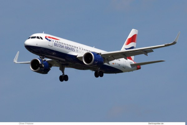 British Airways, Airbus A320neo G-TTNB (TXL 30.5.2019)