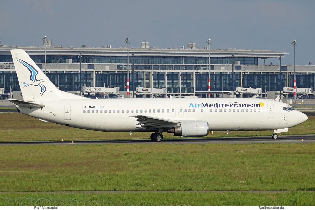 Air Mediterranean Boeing 737-400 SX-MAH