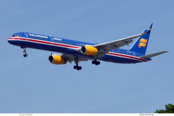 Icelandair, Boeing 757-300(WL) TF-ISX, 100 Years Icelandic Independence (TXL 30.5.2019)