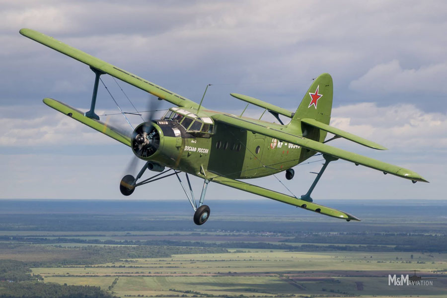 Vologda Aviation Tour im Juli 2019