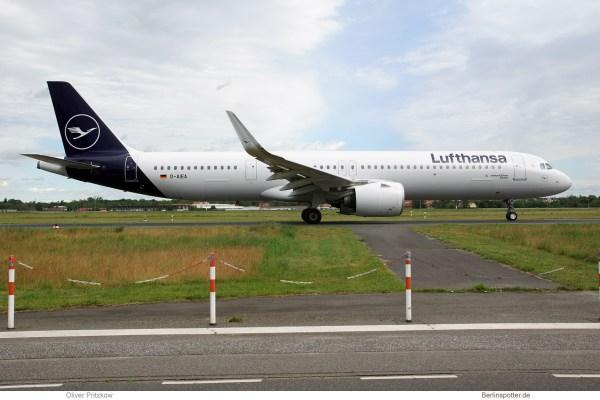 Lufthansa, Airbus A321neo D-AIEA (TXL 8.6.2019)