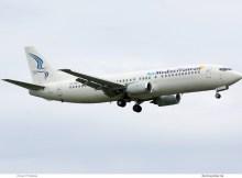 Air Mediterranean, Boeing 737-400 SX-MAH (SXF 31.5.2019)