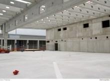 Blick das künftige Terminal 2 am Flughafen BER