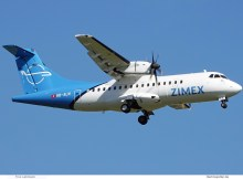 Zimex Aviation, ATR42-500 HB-ALN (SXF 24.7.2019)
