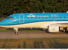 KLM cityhopper, Embraer 175 PH-EXJ (TXL 21.7.2019)