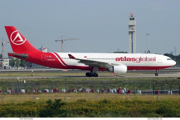 AtlasGlobal, Airbus A330-200 TC-AGL (SXF 22.7.2019)