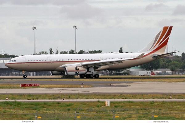 privat, Airbus A330-200 VP-BHD (SXF 7.7.2019)