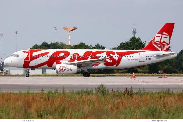 Ernest, Airbus A320-200 EI-GCC (SXF 6.8.2019)