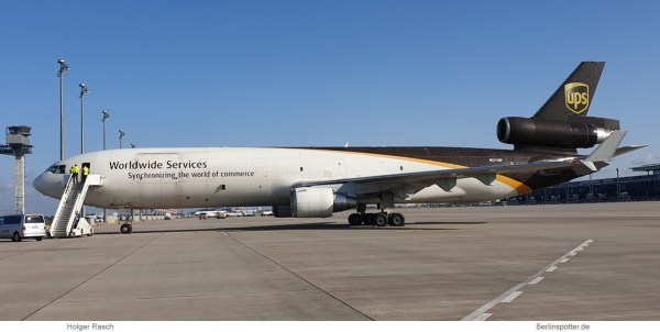 United Parcel Service, McDonnell-Douglas MD-11F N271UP (SXF 13.8.2019)
