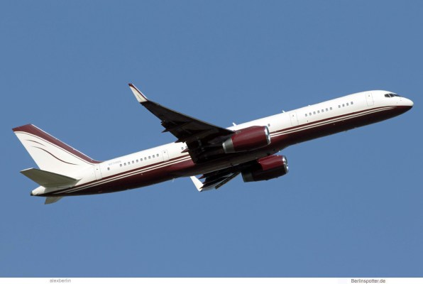 The Yucaipa Companies, Boeing 757-200(WL) N770BB (SXF 26.8.2019)