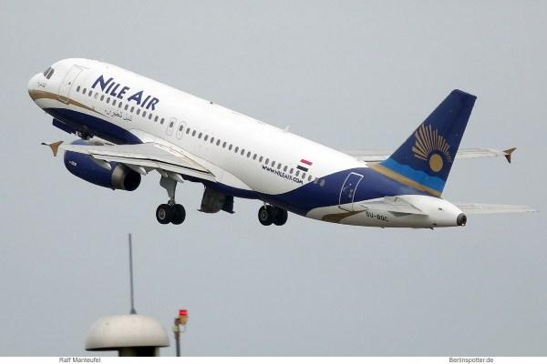 Nile Air, Airbus A320-200 SU-BQC (SXF 17.8.2019)