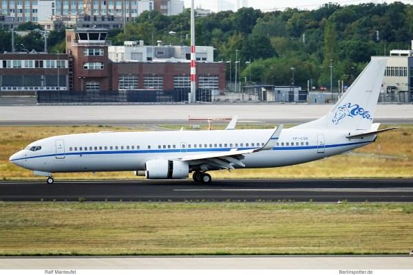 Sultan Al-Kabeer, Boeing 737-800 (BBJ2) VP-CSK (SXF 4.8.2019)