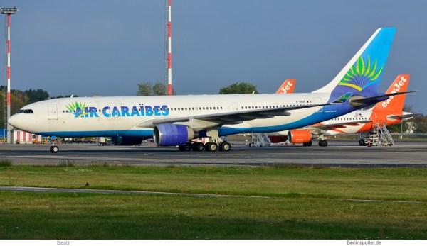Air Caraibes, Airbus A330-200 F-OFDF (SXF 24.9.2019)