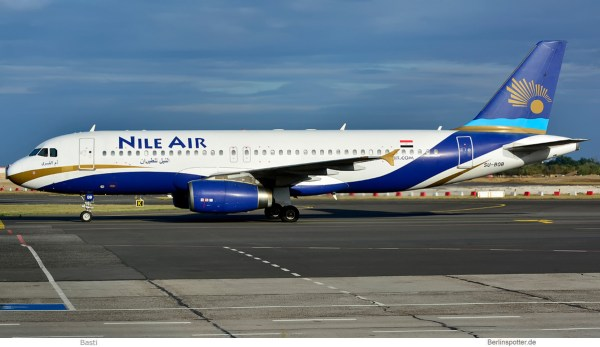 Nile Air, Airbus A320-200 SU-BQB (SXF 3.9.2019)