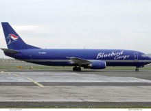 Bluebird Cargo, Boeing 737-400(F) TF-BBH (SXF 25.9.2019)