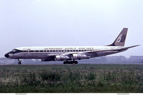 Seaboard World Airlines, Douglas DC-8-55CF N804SW (THF 10.7.1963)