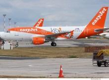 easyJet Europe, Airbus A319-100 OE-LKF, Venezia-Sticker (SXF 14.9.2019)