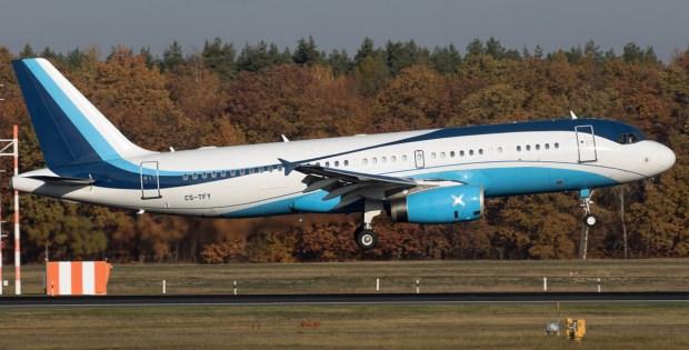 Masterjet Airbus A320-200 CS-TFY (TXL 14.11.2019)