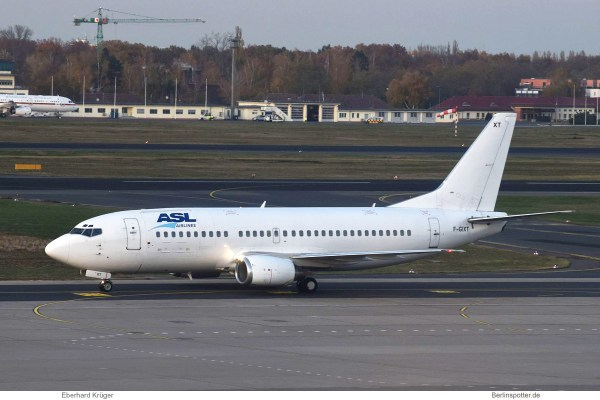ASL Airlines France, Boeing 737-300(QC) F-GIXT (TXL 11.11.2019)