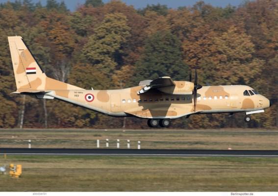 Egypt Air Force, CASA C-295M SU-BRU/1193 (TXL 11.11.2019)