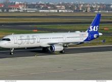 SAS Scandinavian, Airbus A321-200 OY-KBH (TXL 19.12.2019)