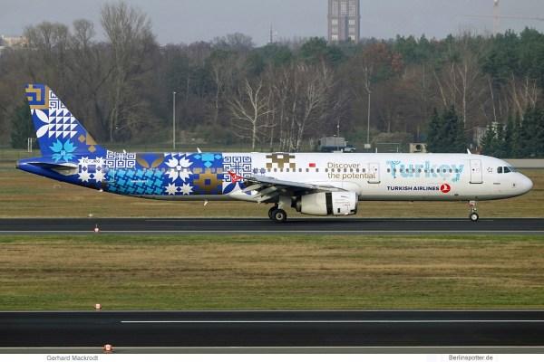 Turkish Airlines, Airbus A321-200 TC-JRG (TXL 19.12.2019)