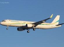 Kazakhstan Gvmt, Airbus A321-200(SL) UP-A2101 (TXL 5.12.2019)