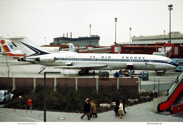Air France, Boeing 727-200 F-BPJJ (TXL 1977)