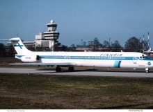 Finnair, McDonnell-Douglas MD-82 OH-LMT (TXL 1991)