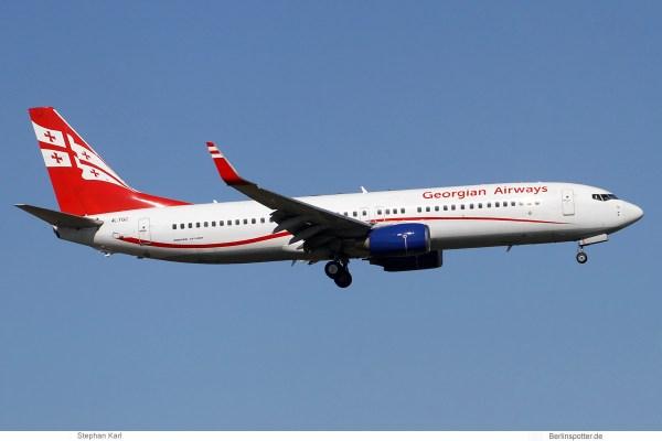 Georgian Airways, Boeing 737-800(WL) 4L-TGC (SXF 23.3.2020)