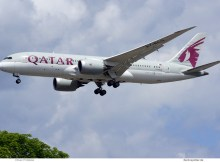 Qatar Airways, Boeing 787-8 Dreamliner A7-BCG (TXL 3.7.2020)