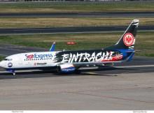 SunExpress, Boeing 737-800(WL) TC-SPC, Eintracht Frankfurt cs. (TXL 18.9.2020)