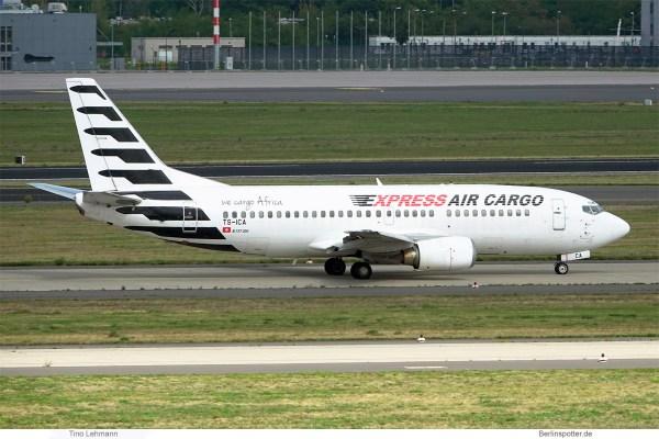 Express Air Cargo, Boeing 737-300(QC) TS-ICA (SXF 10.9.2020)