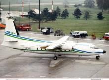Air Jet, Fokker 27-600 F-GFJS (TXL ca. 1990)