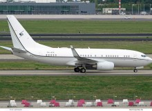 Premier Avia, Boeing 737-700(BBJ) P4-AFK (SXF 29.9.2020)