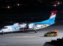 Luxair, Bombardier Q400 LX-LQA (TXL 6.11.2020)