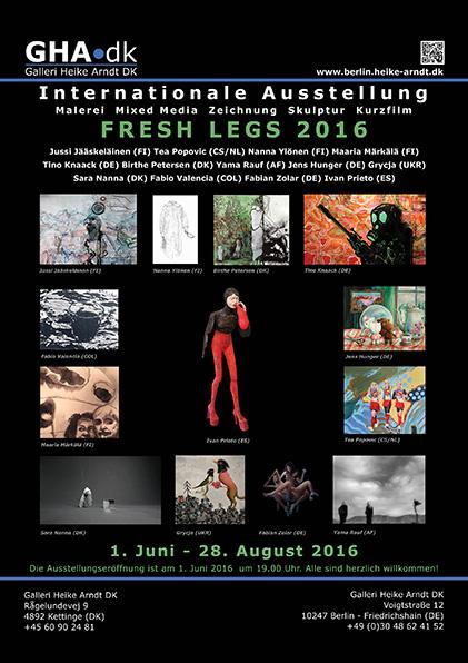 Galleri Heike Arndt DK, Fresh Legs 2016