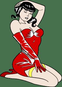 pin-up-girl-reddress