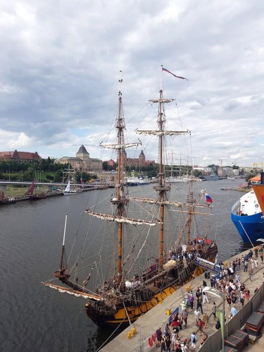 View of Szczecin from Castle Bridge