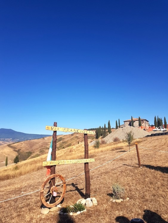 Via Francigena pilgrimage