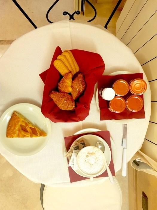 Hotel Gregoriana breakfast