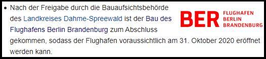 BER Eröffnung Berlin Wiki