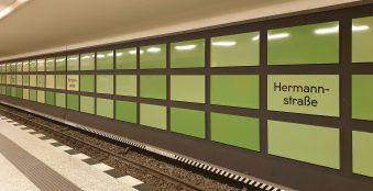 Berlin Neukölln Hermannstraße U-Bahn