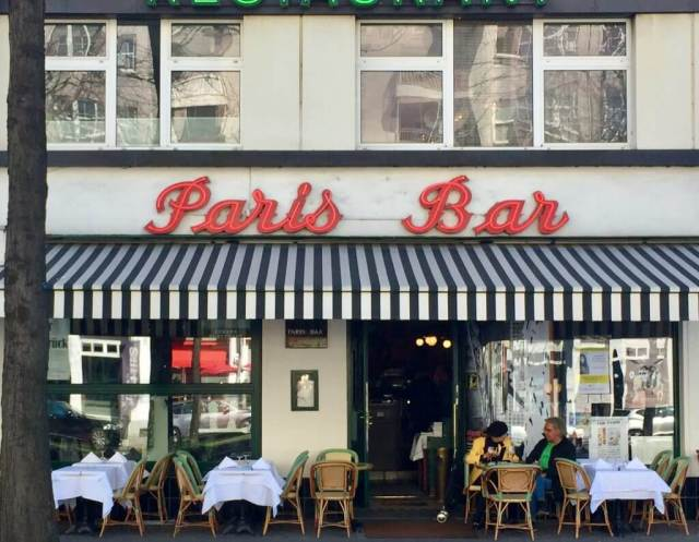 Paris Bar Charlottenburg - David Bowie i Berlin