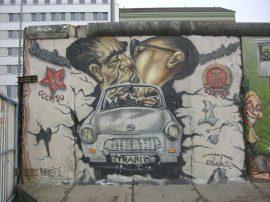 Berlinmurens historie - Berlinmurens fald