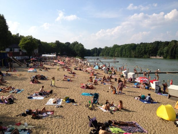 Berlin on the beach? Strandbar i Berlin