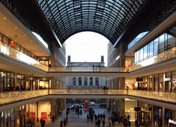 Shopping i Berlin - Mall of Berlin