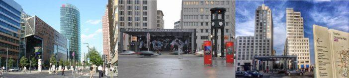Potsdamer Platz - Shopping i Berlin